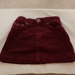 Children's Place Corduroy Skirt